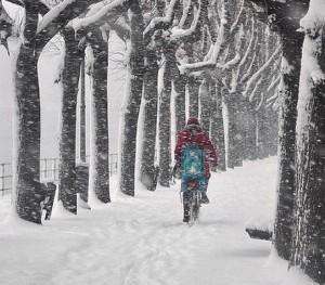 Neve Lecco bici
