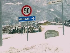 morterone strada chiusa x neve