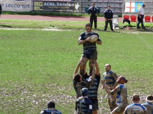 rugby lecco touche