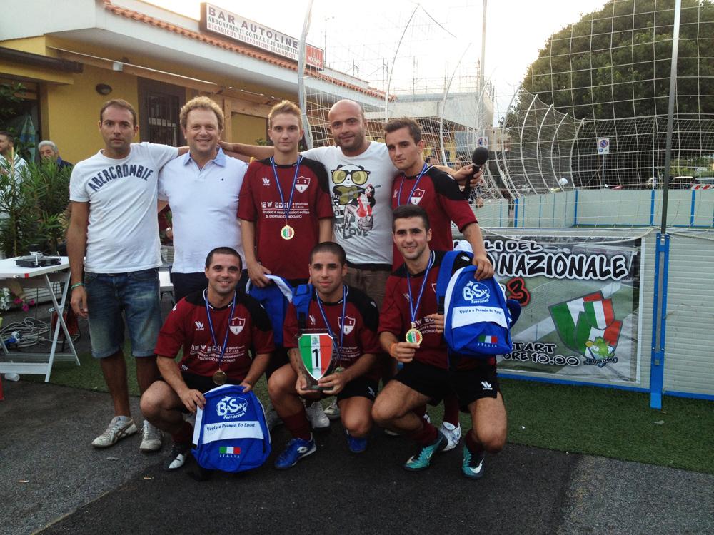 CALCIO A 3 Udine-1a-classificata