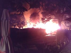 Incendio Camping Colico