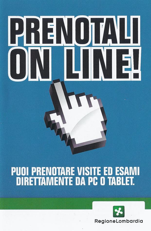 PRENOTA ON LINE