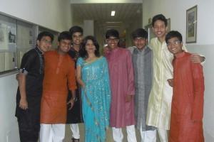 indiani in costume