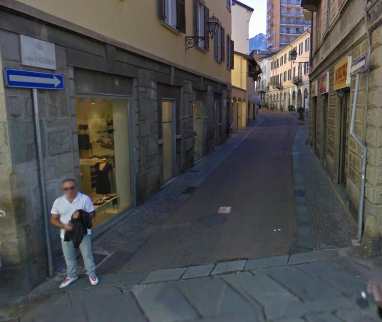 via cattaneo via Roma LECCO