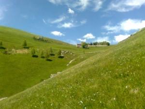 Paesaggio in Valcava