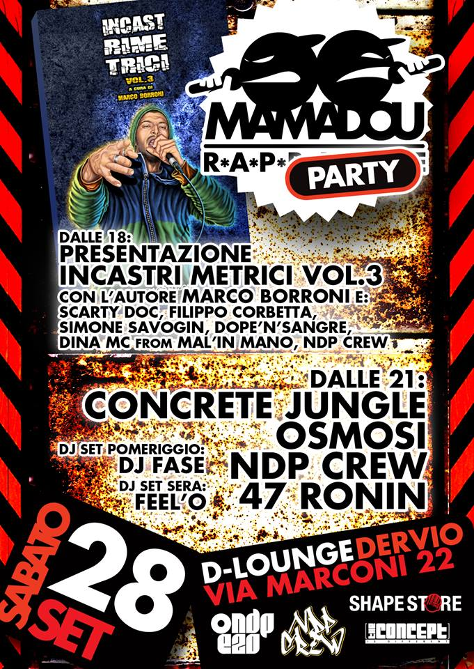 MAMADOU RAP PARTY