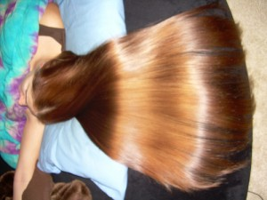 capelli splendenti