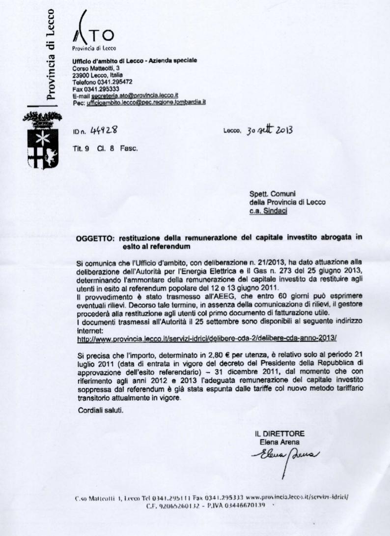2013.09.30 ATO rimborsi