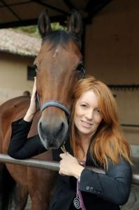 brambilla e cavallo marrone