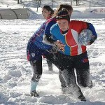 RUGBY SOTTO LA NEVE