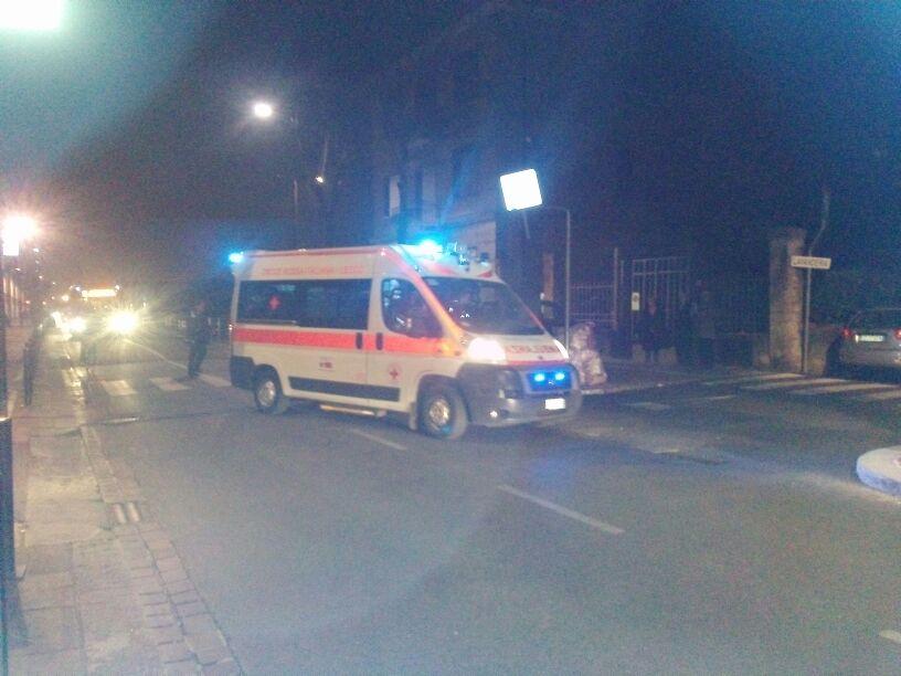 ambulanza viale Turati