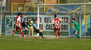 Calcio Lecco Caravaggio Gol