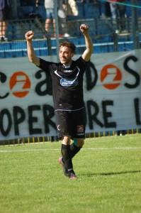 Fabio Cardinio Esultanza Calcio Lecco