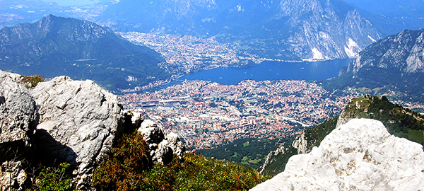 LECCO PANORAMA DAL RESEGONE