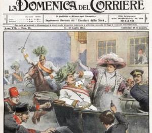 francesco ferdinando sarajevo 1914