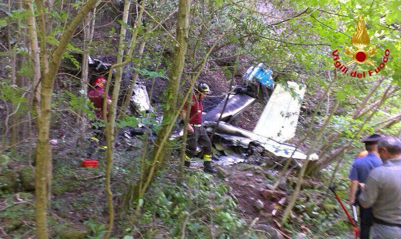 incidente aereo valvarrone 1