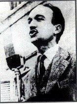 Giorgio Almirante comizio