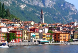 Varenna from Lake