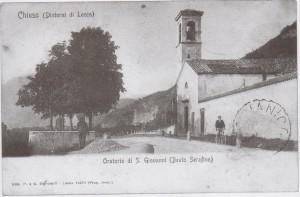 Chiesetta del Beato Serafino 1902