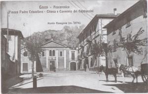 Piazza Fra Cristoforo e Convento dei Cappuccini, 1911