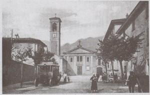Piazza Fra Cristoforo e Convento dei Cappuccini, 1925