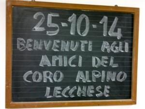 CORO ALPINO LAVAGNA