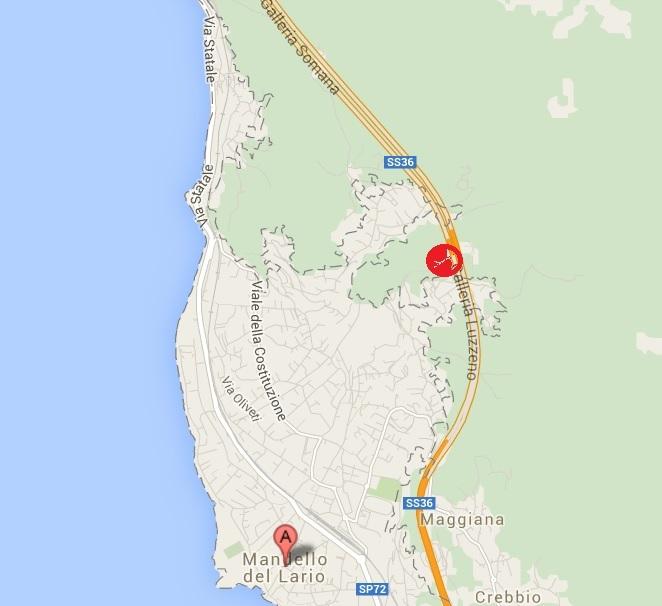 FRANA MANDELLO MAP