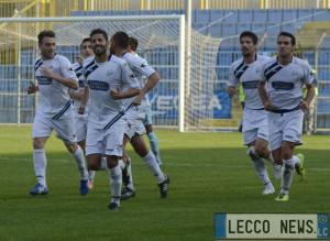 Ivan Buonocunto Calcio Lecco Esultanza