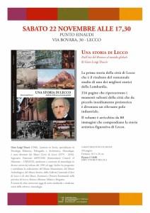 Locandina  Una storia di Lecco-p1