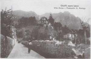 Via allo Zucco, Palazzotto di Don Rodrigo, Olate, 1921