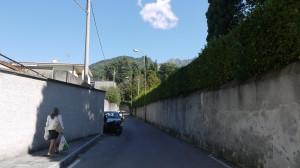 Via allo Zucco, Palazzotto di Don Rodrigo, Olate, 2014