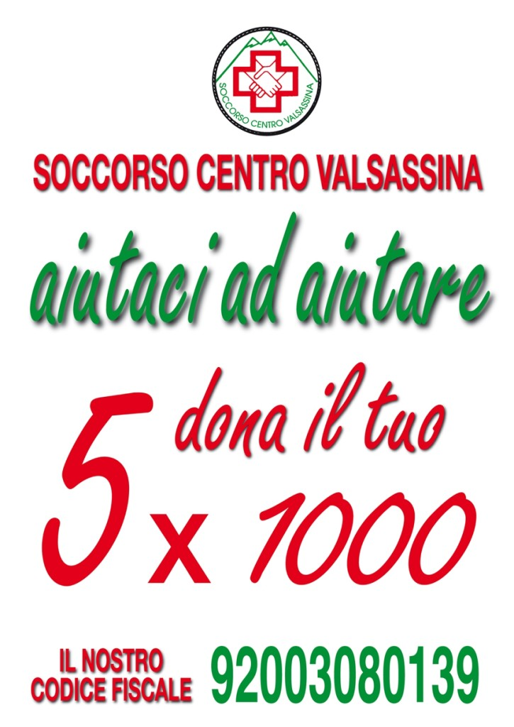 VOLANTINO 5X1000