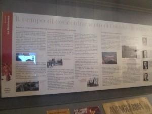 museo lecco belgiojoso resistenza anpi fossoli pannello
