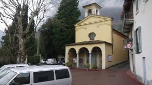Chiesa di San Carlo, a Rancio, in Località Castione, 2014
