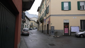 Incrocio tra via dei Partigiani e via Agliati, San Giovanni, 2014