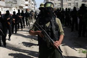 Masked Palestinian Members of Islamic Jihad