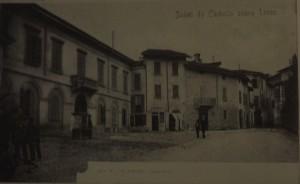Corso Matteotti, Veduta verso Castello, 1901