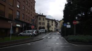 Corso Matteotti, Veduta verso Castello, 2014