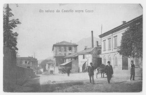 Corso Matteotti, Veduta verso Lecco, 1915