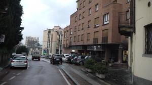 Corso Matteotti, Veduta verso Lecco, 2014