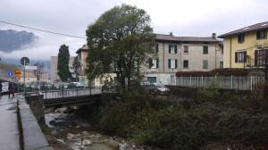 Ponte sul Bione in via Airoldi e Muzzi a Germanedo, 2015