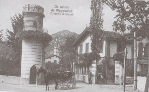 Incrocio della Torretta, Maggianico, 1909, Prospettiva A
