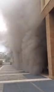 broletto incendio parcheggi fumo 2