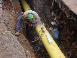 rete gas operai lavoro