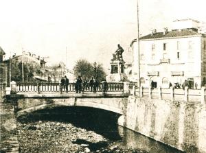Viale Dante, Lecco, inizio Novecento