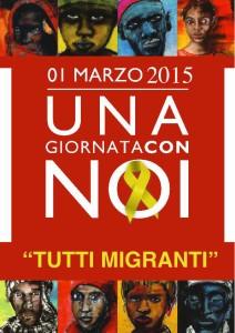 tutti migranti 1 marzo