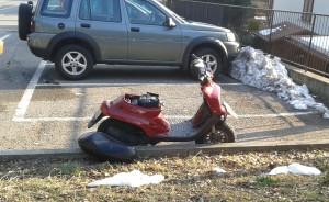 incidente moto ballabio