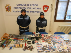 sequestro cd lecco
