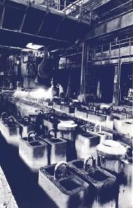 fabbrica caleotto anni 40