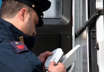 Cronotachigrafo polizia stradale
